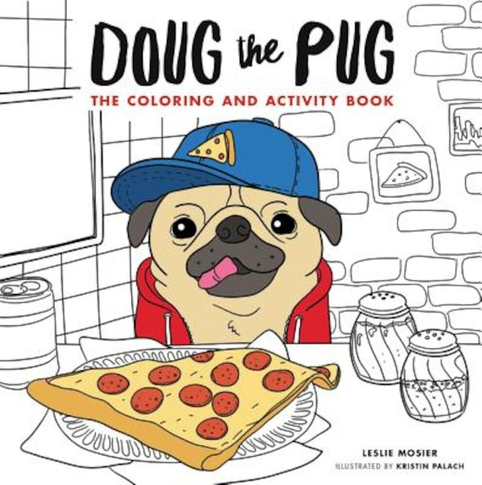 Doug the Pug: The Coloring and Activity Book, Paperback