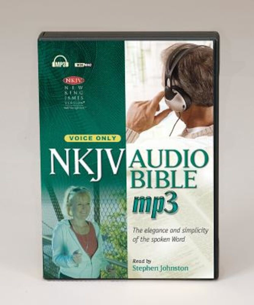 MP3 Bible-NKJV-Voice Only [With DVD], Audiobook
