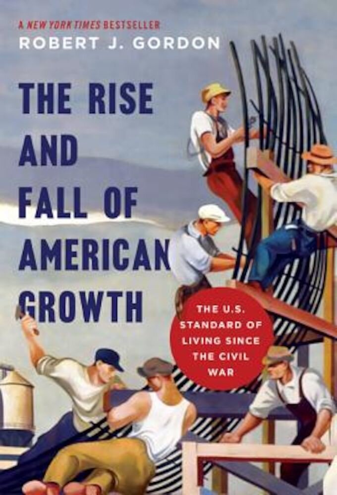 The Rise and Fall of American Growth: The U.S. Standard of Living Since the Civil War, Hardcover