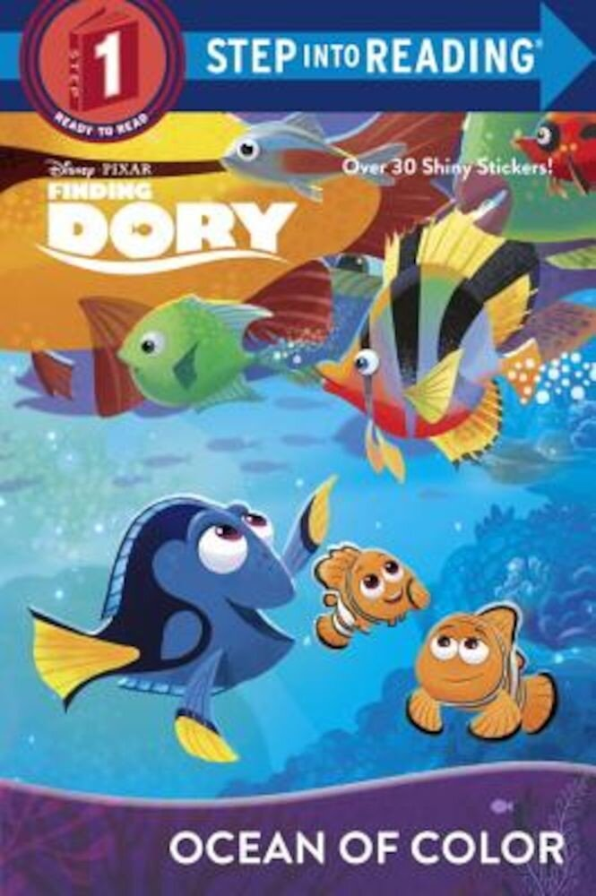 Ocean of Color (Disney/Pixar Finding Dory), Paperback
