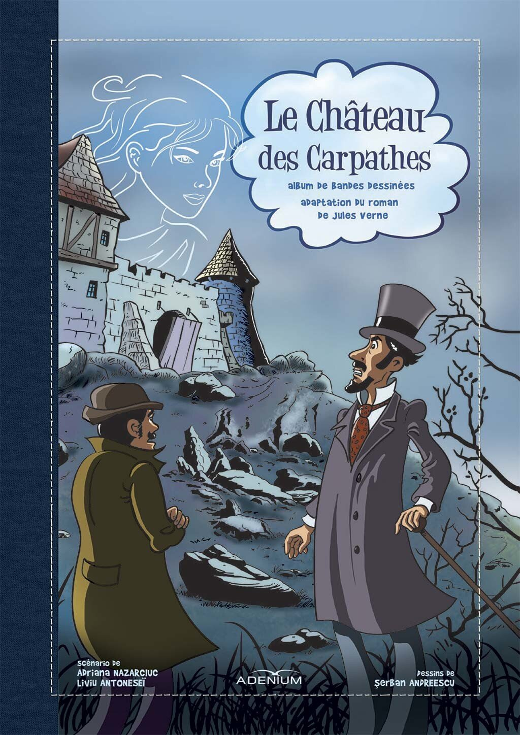 Le Chateau des Carpathes. Bande dessinee (eBook)