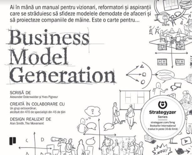 Coperta Carte Business Model Generation