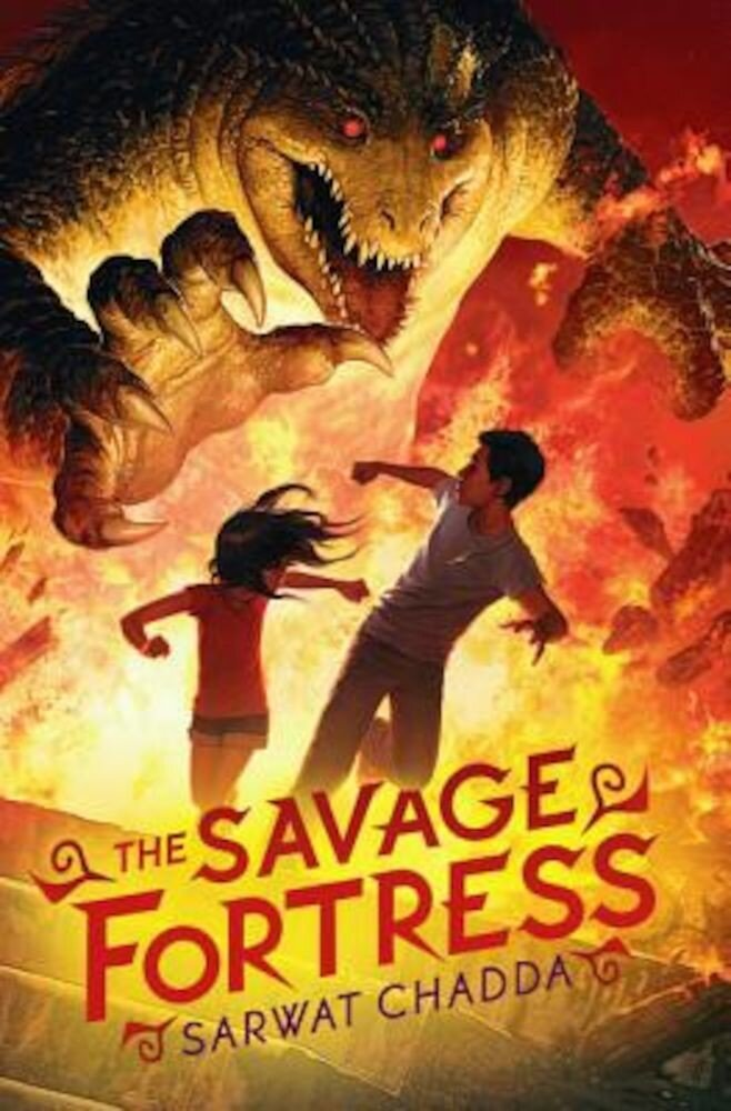 The Savage Fortress, Hardcover