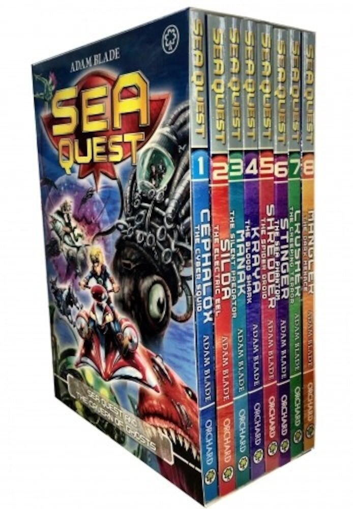 Sea Quest Series 1 and 2