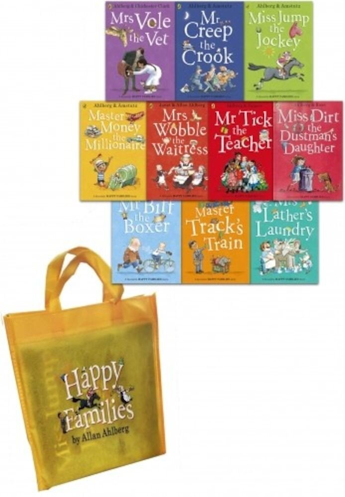 Happy Families Collection. 10 Books Set
