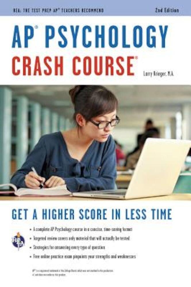 AP(R) Psychology Crash Course Book + Online, Paperback
