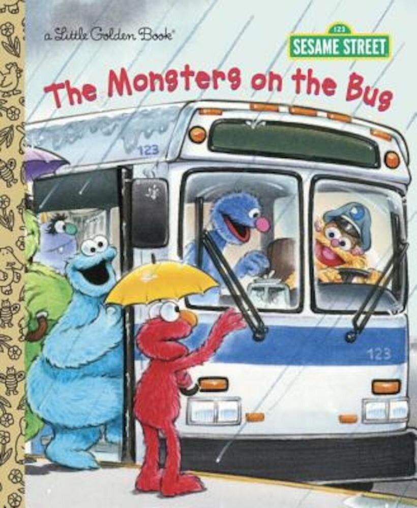 The Monsters on the Bus (Sesame Street), Hardcover