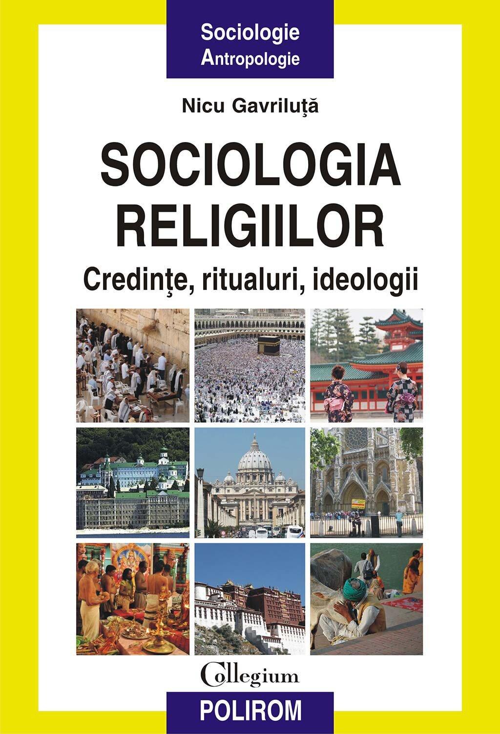 Sociologia religiilor. Credinte, ritualuri, ideologii (eBook)
