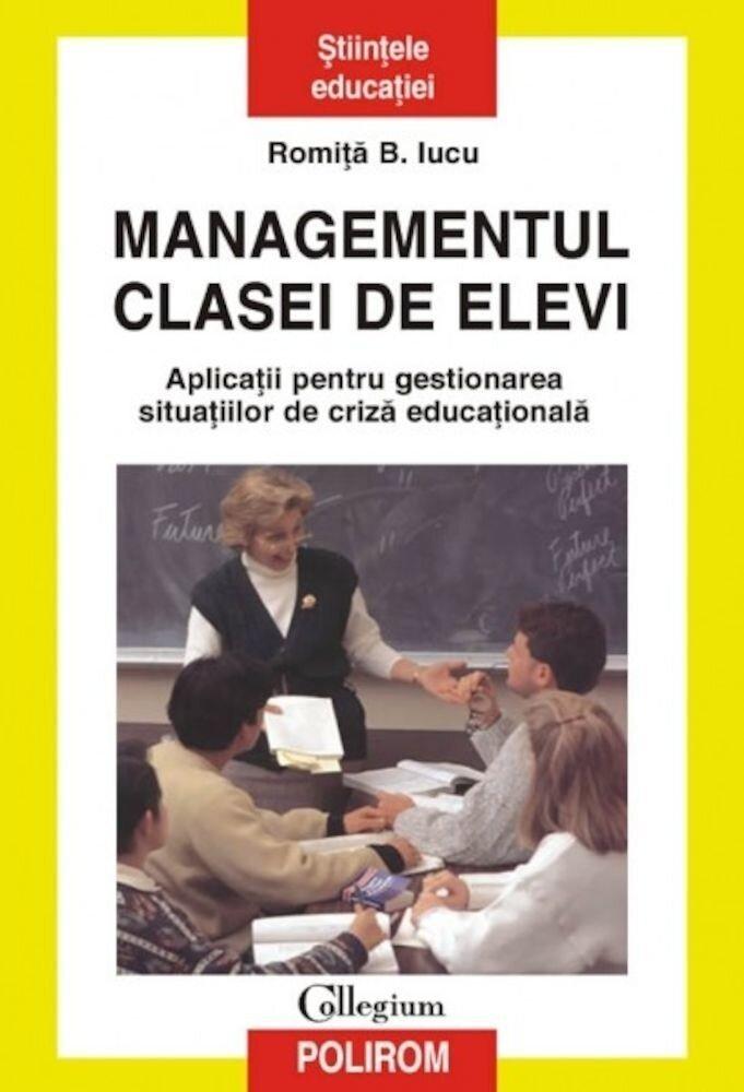 Coperta Carte Managementul clasei de elevi