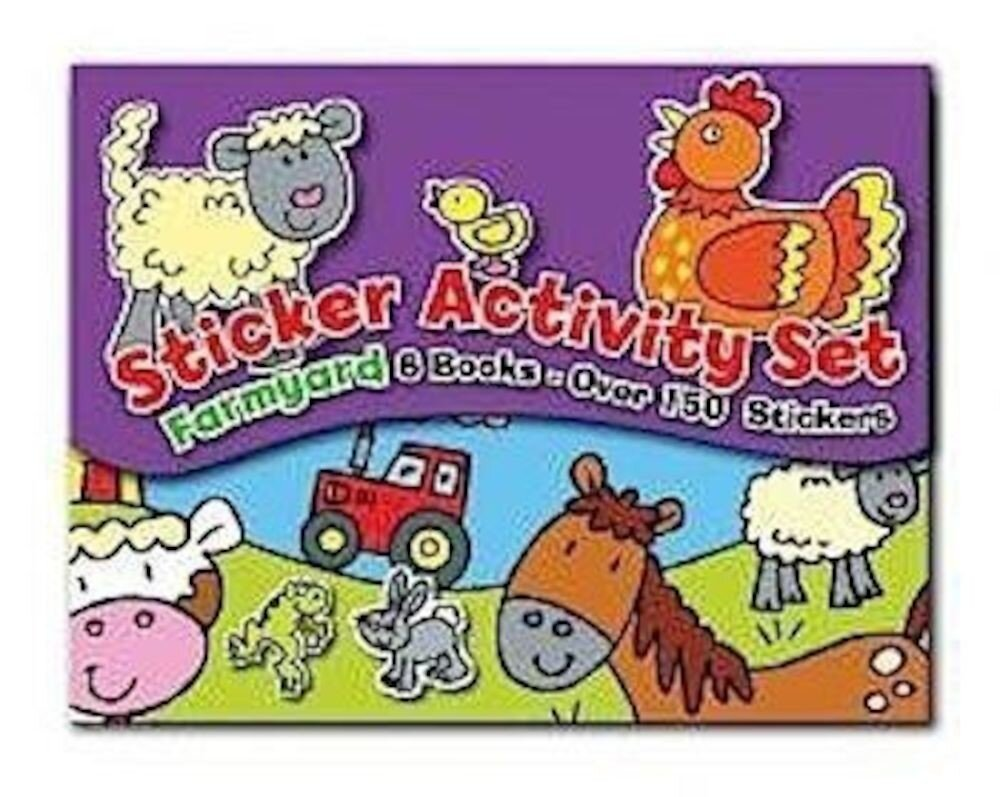 Sticker Activity Set - Farm