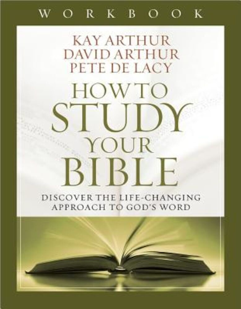 How to Study Your Bible Workbook, Paperback