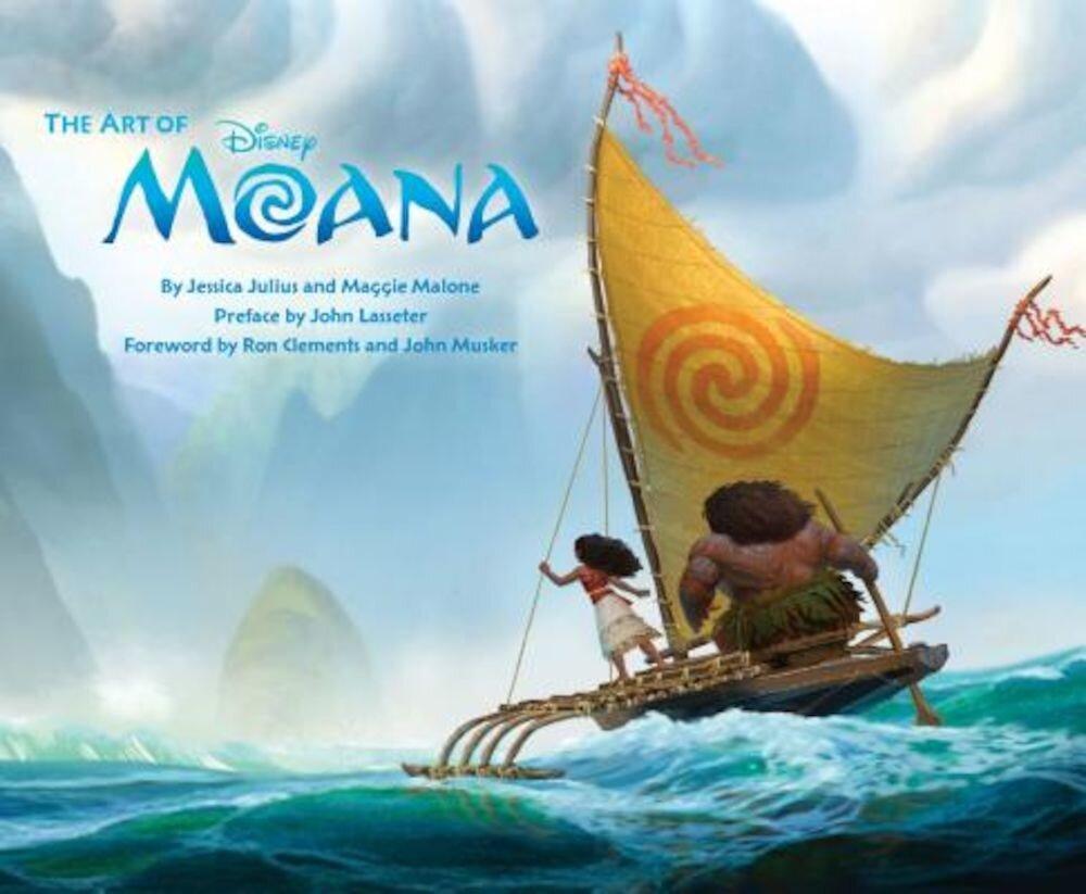 The Art of Moana, Hardcover