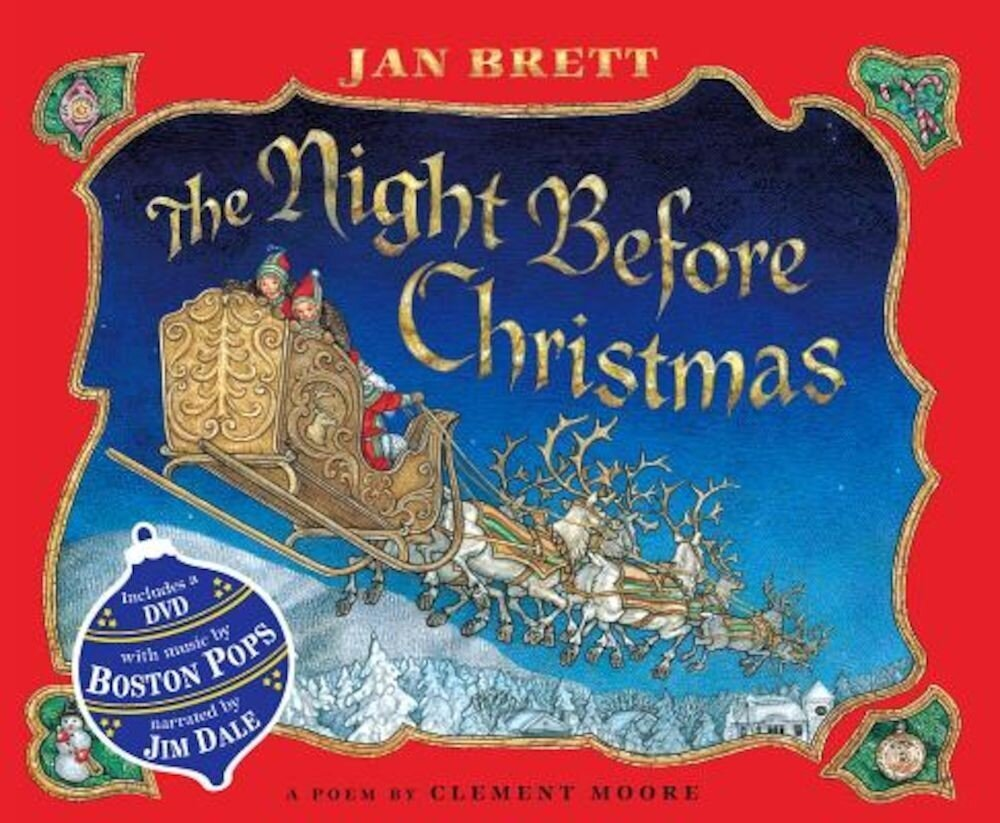 The Night Before Christmas [With DVD], Hardcover