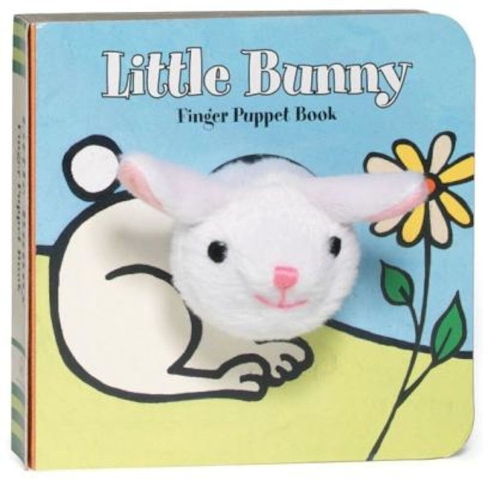 Little Bunny Finger Puppet Book [With Finger Puppet], Hardcover