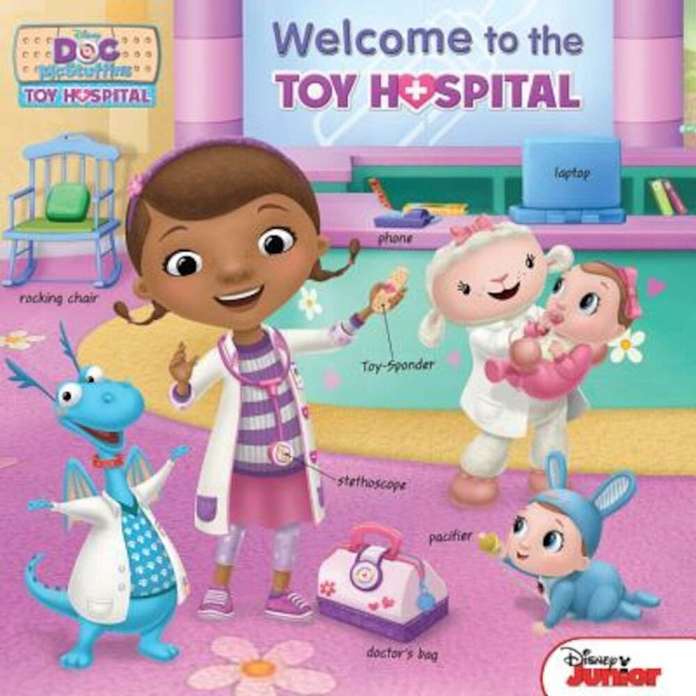 Doc McStuffins Welcome to the Toy Hospital, Hardcover