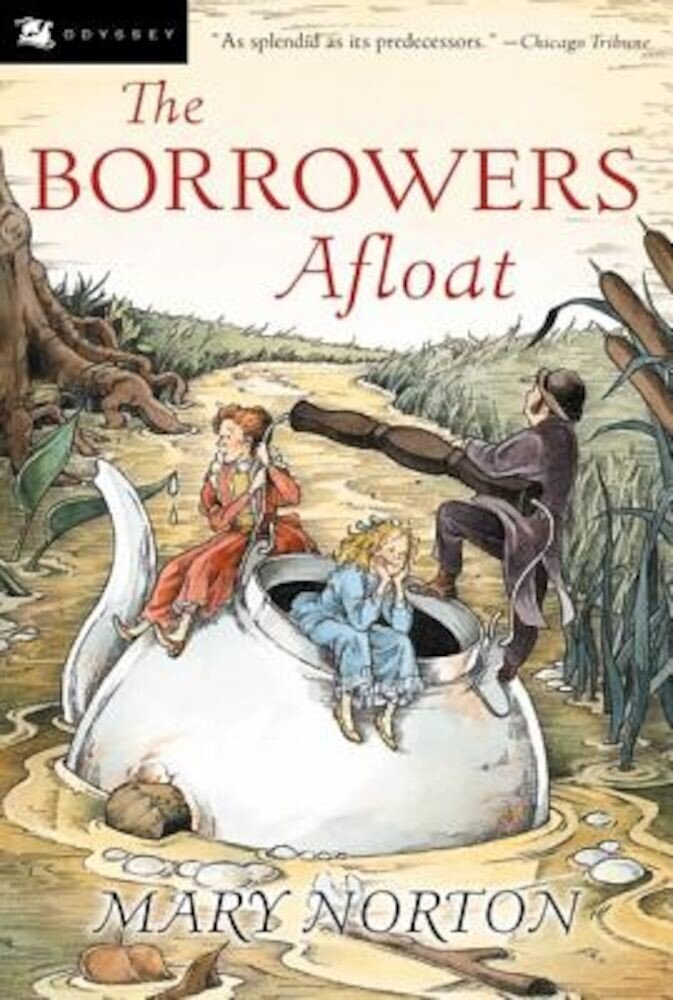 The Borrowers Afloat, Paperback