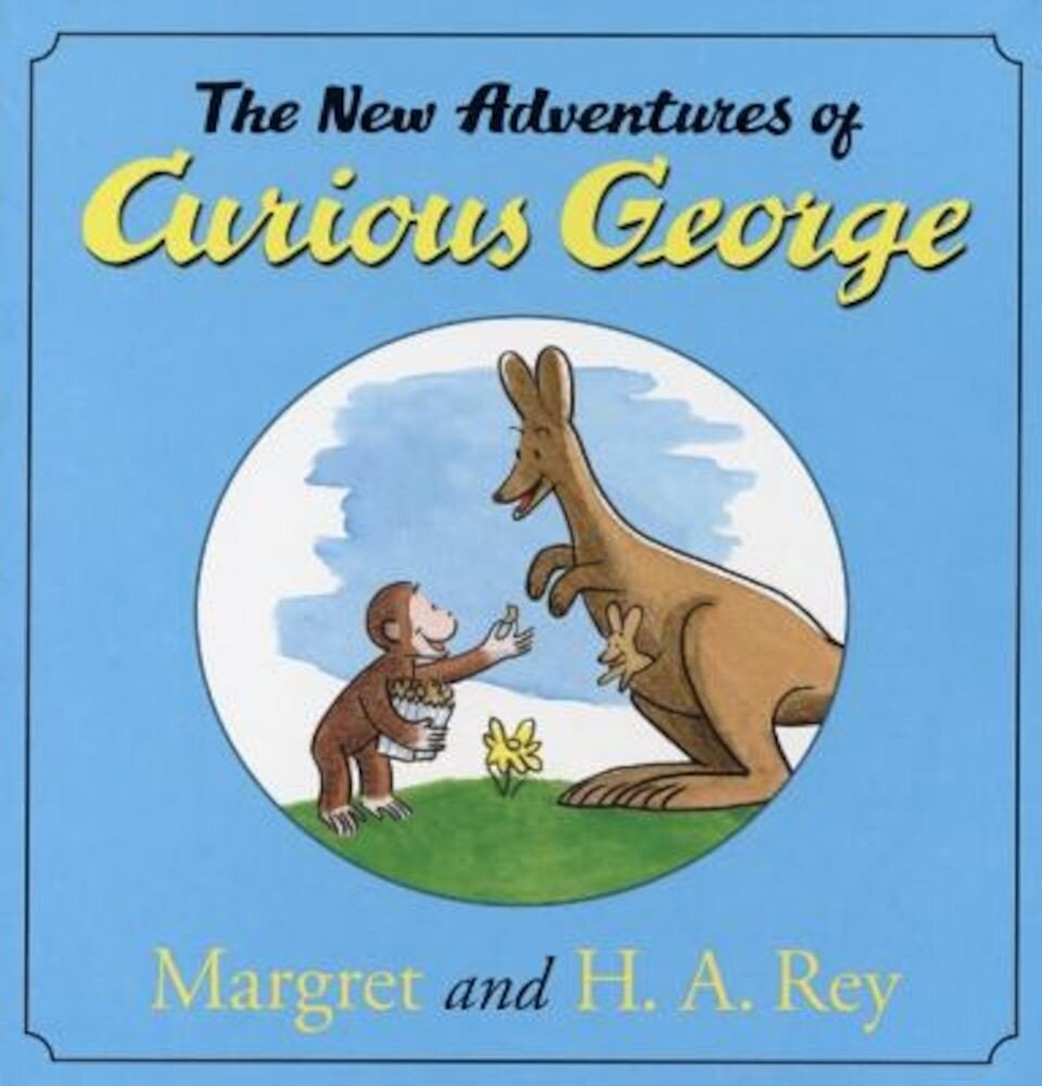 The New Adventures of Curious George, Hardcover