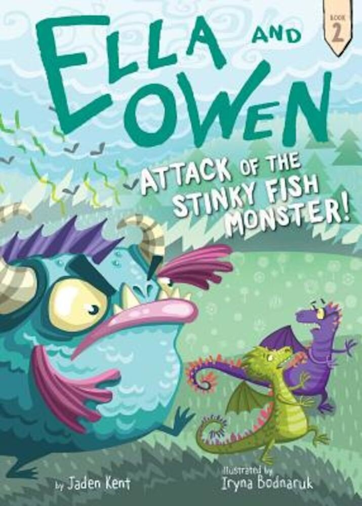 #2: Attack of the Stinky Fish Monster!, Paperback
