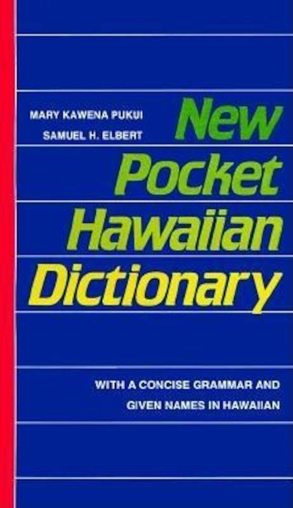 New Pocket Hawaiian Dictionary, Paperback