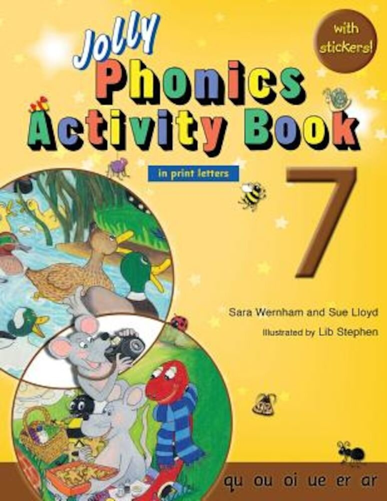 Jolly Phonics Activity Book 7 (in Print Letters), Paperback