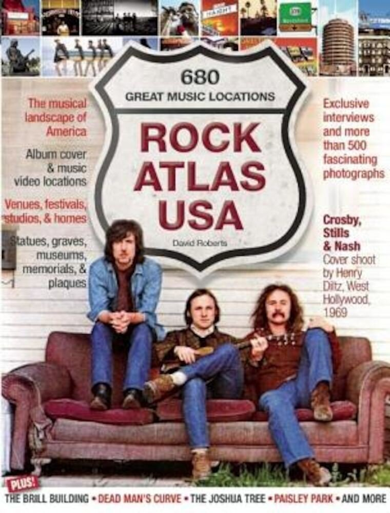Rock Atlas USA: The Musical Landscape of America, Paperback