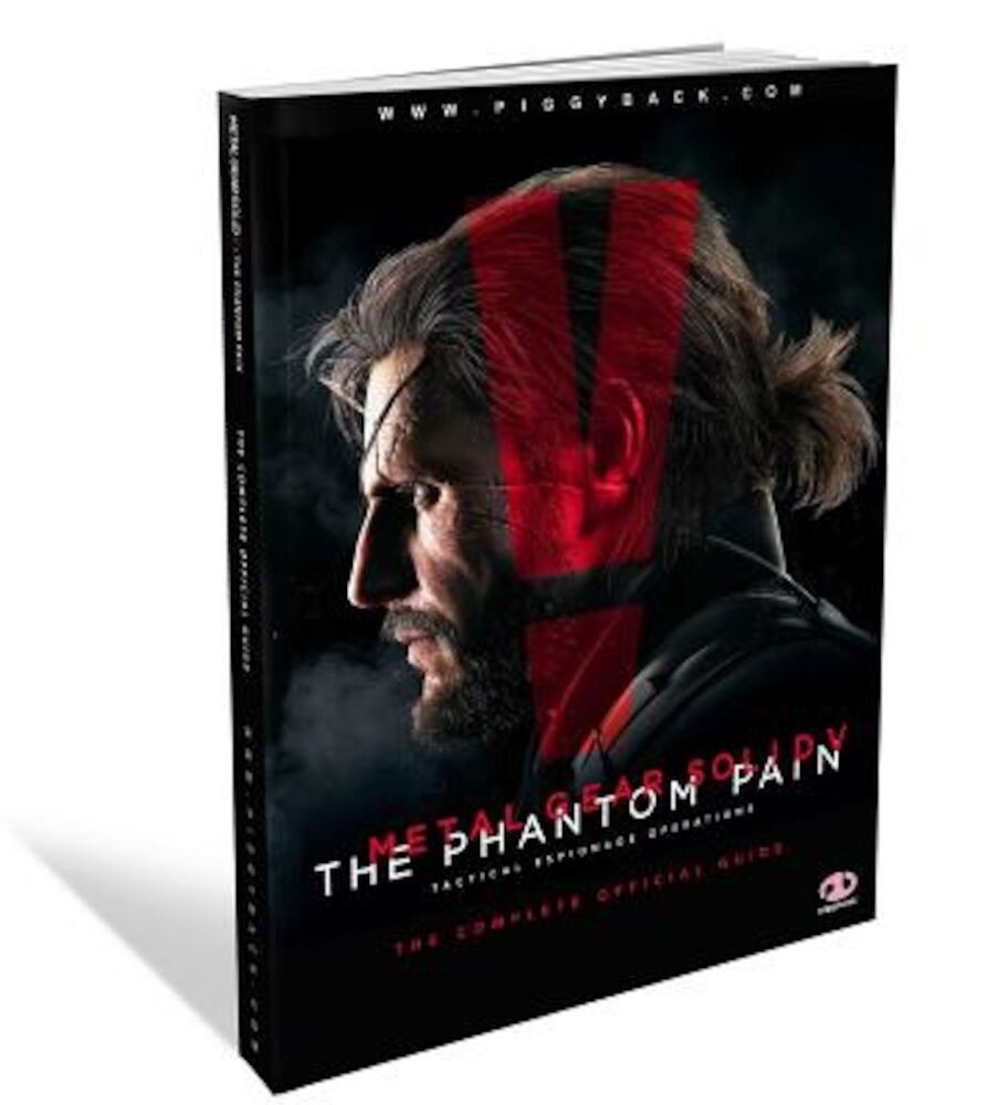 Metal Gear Solid V: The Phantom Pain: The Complete Official Guide, Paperback