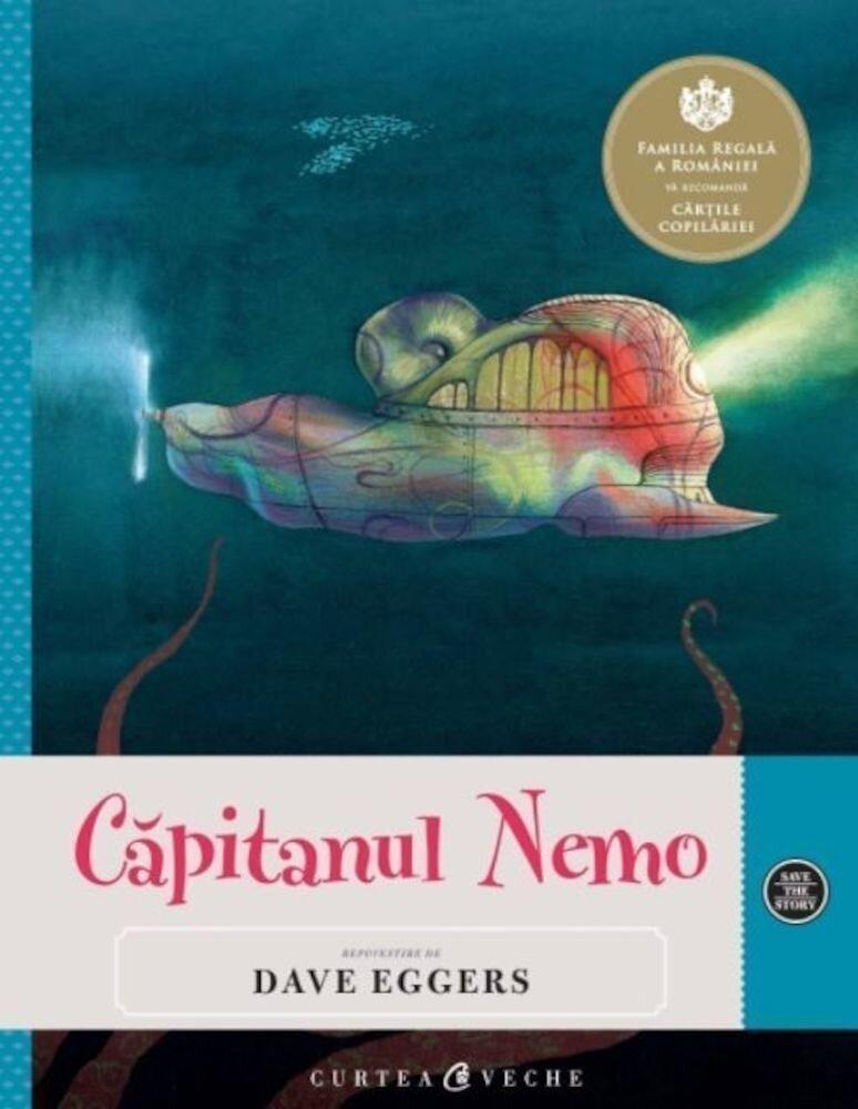 Coperta Carte Capitanul Nemo