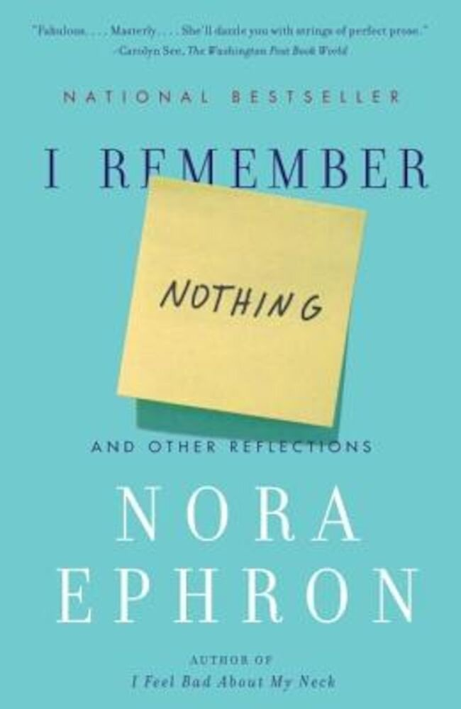 I Remember Nothing: And Other Reflections, Paperback