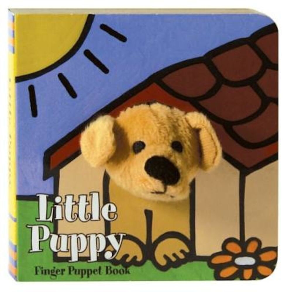 Little Puppy Finger Puppet Book, Hardcover