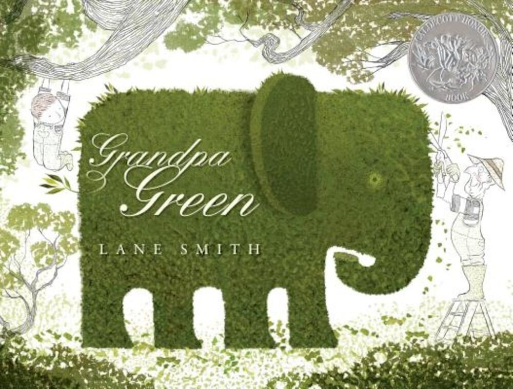Grandpa Green, Hardcover