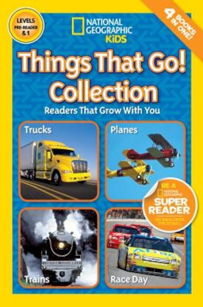 Things That Go Collection, Paperback