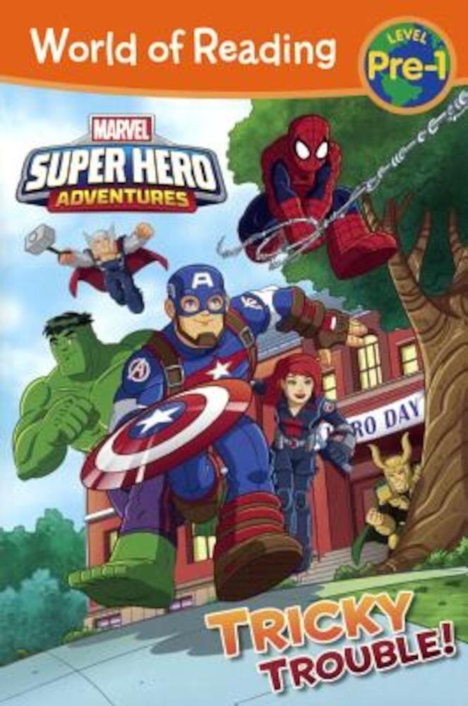 Super Hero Adventures: Tricky Trouble!, Hardcover