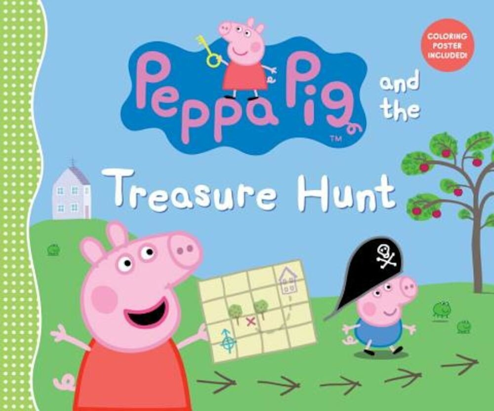 Peppa Pig and the Treasure Hunt, Hardcover