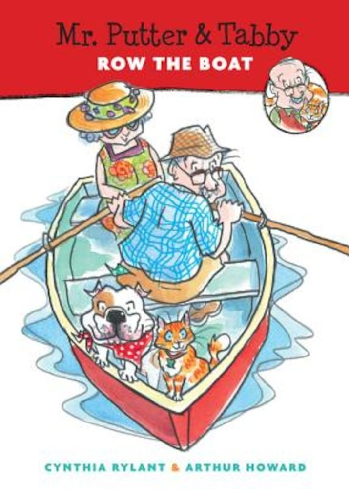 Mr. Putter & Tabby Row the Boat, Paperback