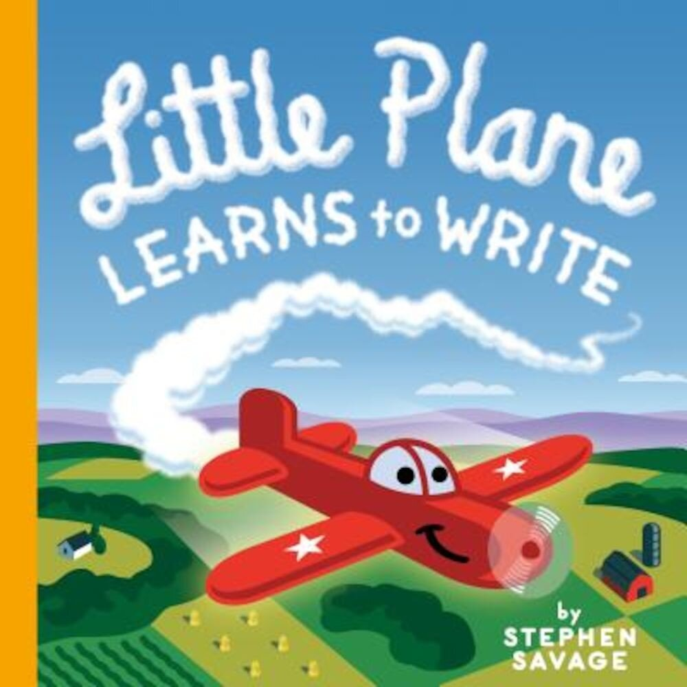 Little Plane Learns to Write, Hardcover