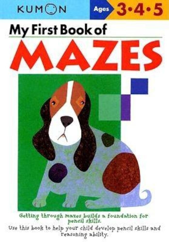 My First Book of Mazes, Paperback