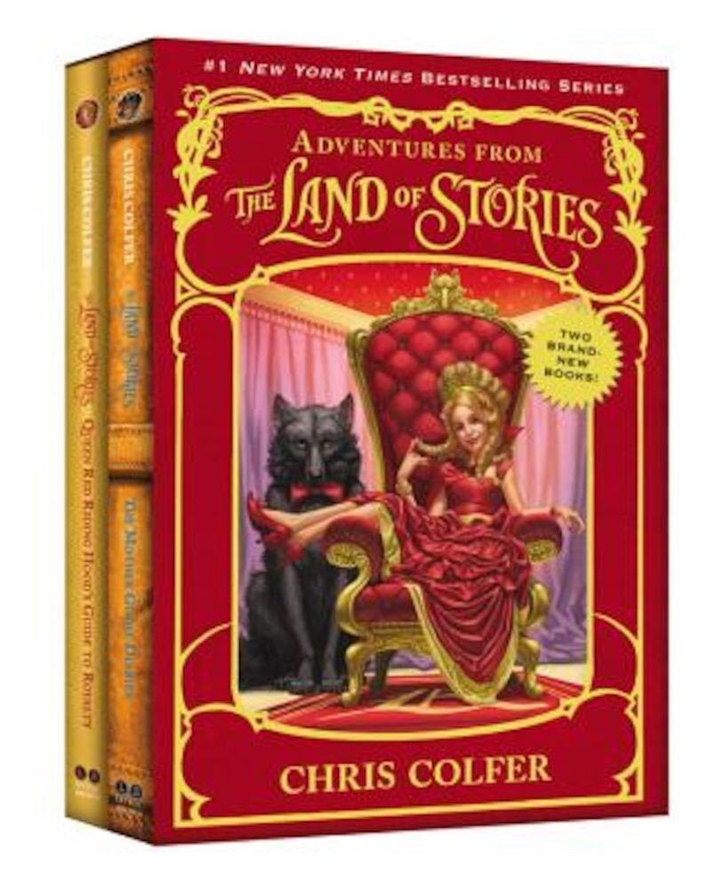Adventures from the Land of Stories Set: The Mother Goose Diaries and Queen Red Riding Hood's Guide to Royalty, Hardcover
