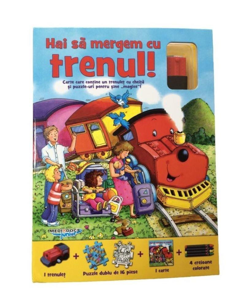 Puzzle track - Hai sa mergem cu trenul!