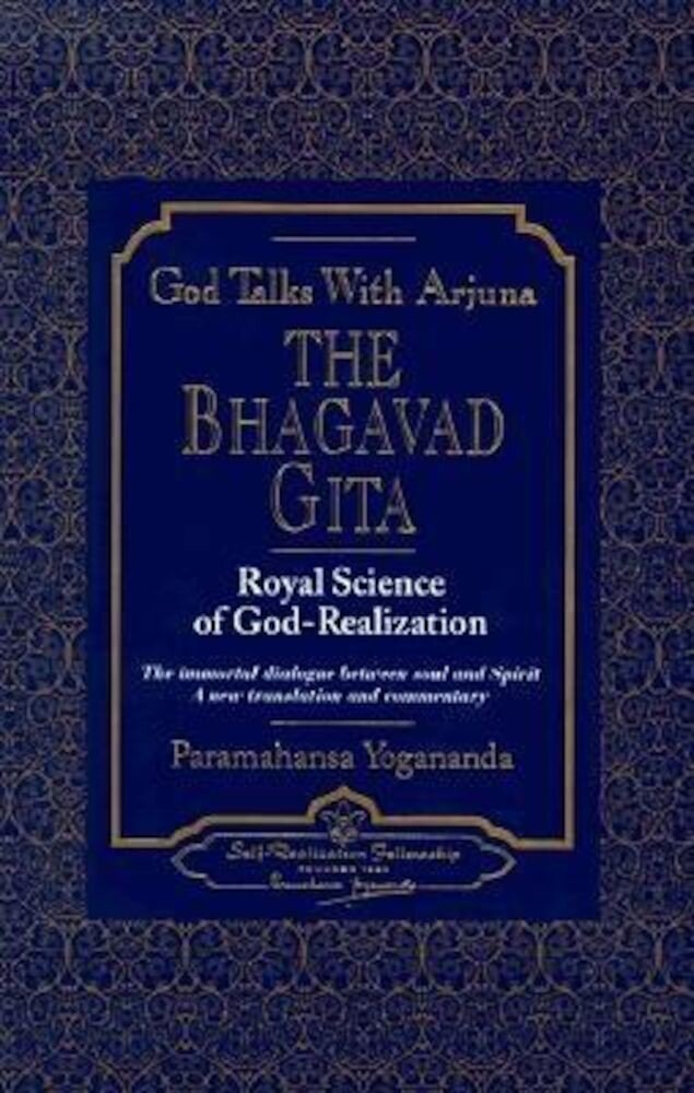 God Talks with Arjuna: The Bhagavad Gita, Hardcover