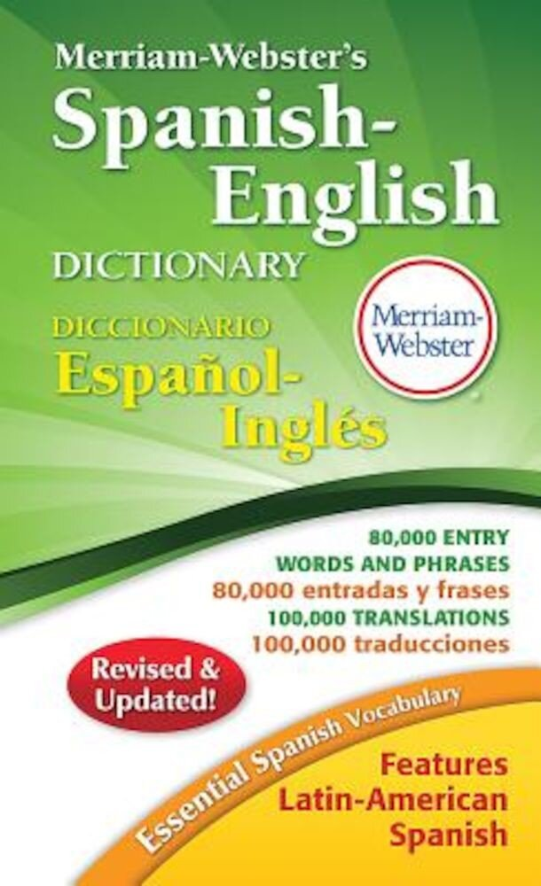 Merriam-Webster's Spanish-English Dictionary, Paperback