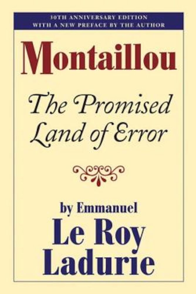 Montaillou: The Promised Land of Error, Paperback