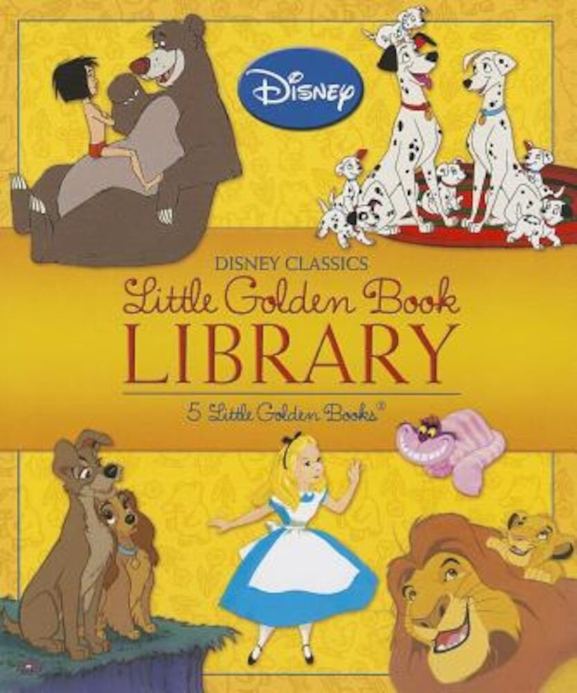 Disney Classics Little Golden Book Library, Hardcover