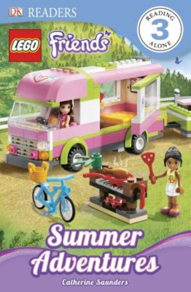 DK Readers L3: Lego Friends: Summer Adventures, Paperback