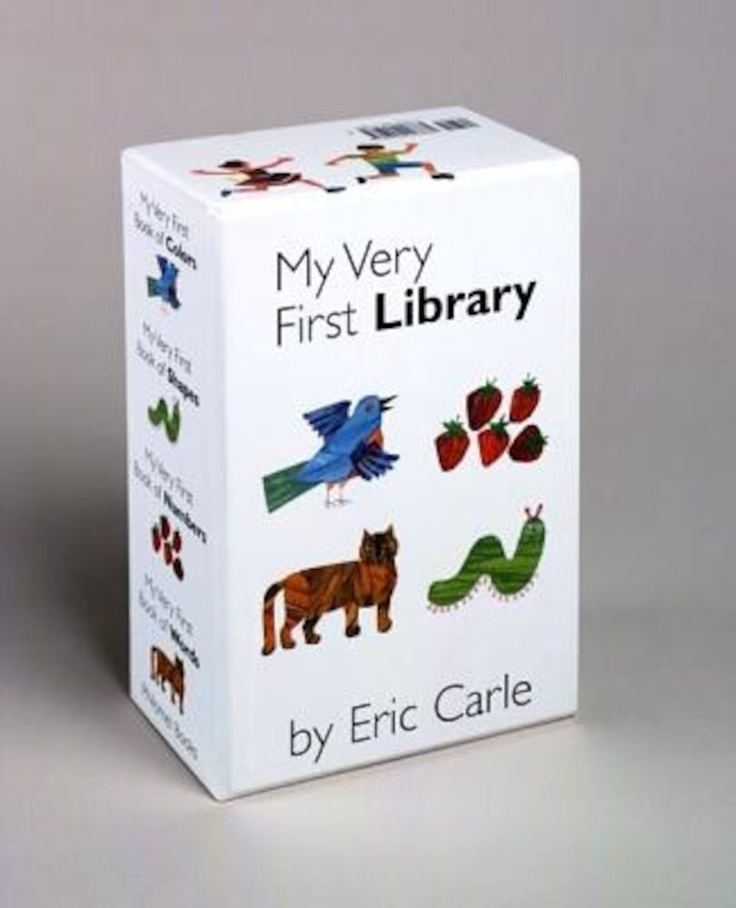 My Very First Library: My Very First Book of Colors, My Very First Book of Shapes, My Very First Book of Numbers, My Very First Books of Word, Hardcover