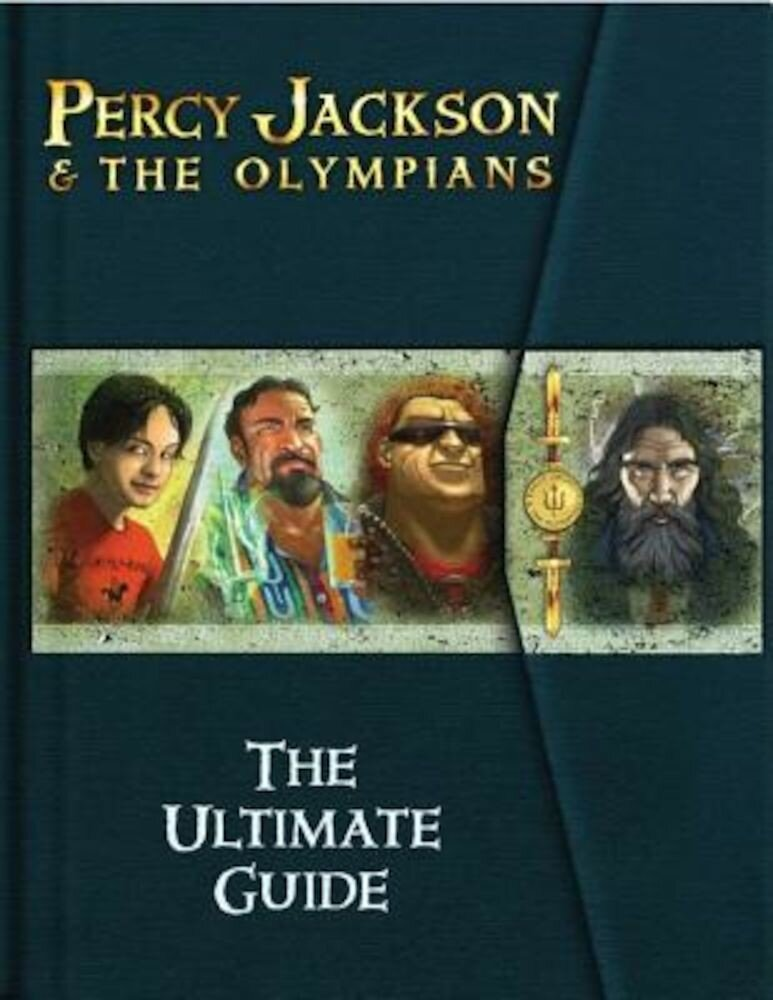 Percy Jackson & the Olympians: The Ultimate Guide [With Trading Cards], Hardcover