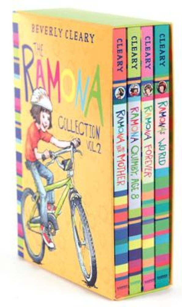 The Ramona Collection, Volume 2: Ramona and Her Mother; Ramona Quimby, Age 8; Ramona Forever; Ramona's World, Paperback