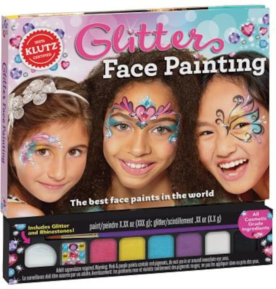 Glitter Face Painting, Hardcover