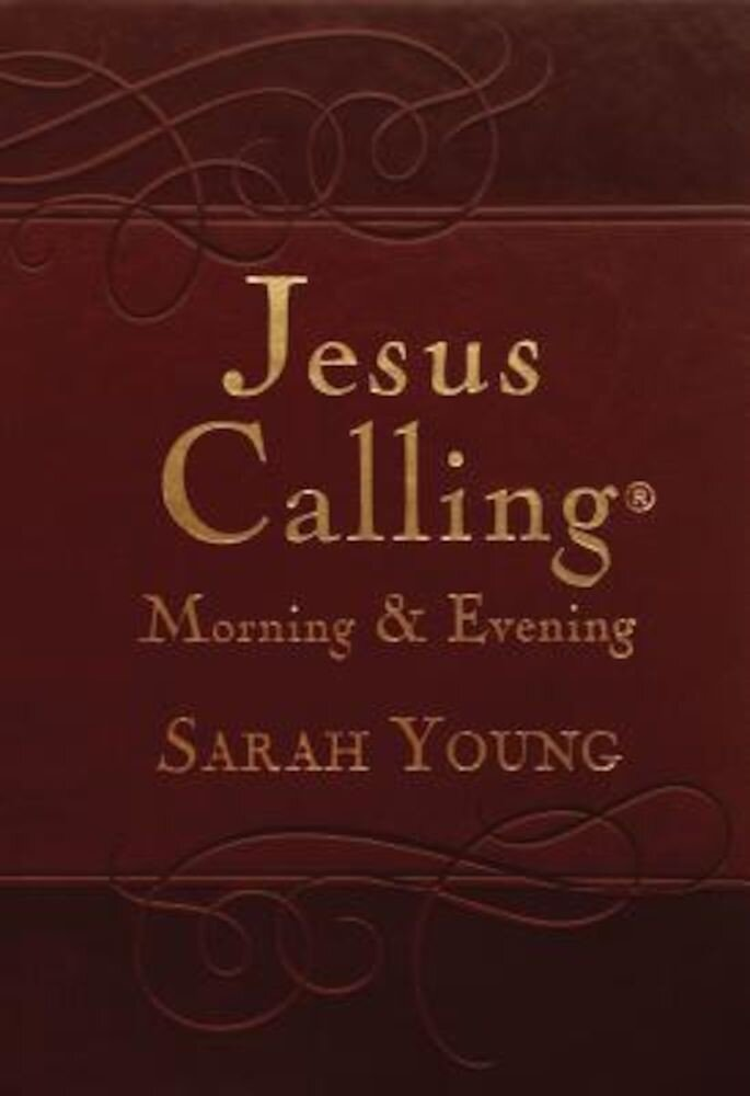 Jesus Calling Morning and Evening Devotional, Hardcover