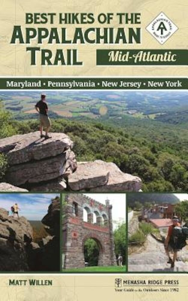Best Hikes of the Appalachian Trail: Mid-Atlantic, Paperback
