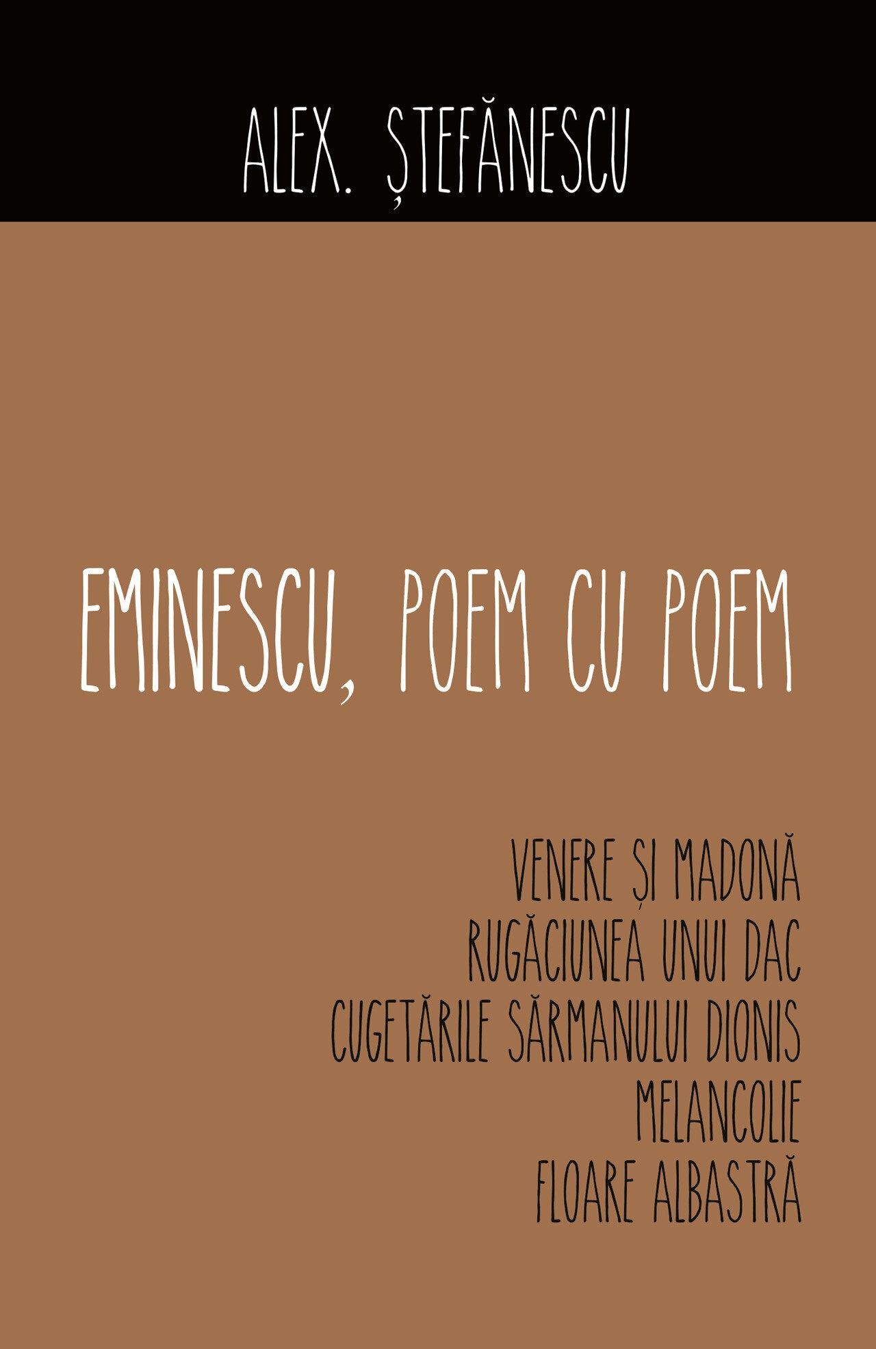 Eminescu, poem cu poem. Venere si Madona (eBook)